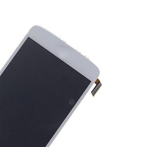 Image 5 - العلامة التجارية الجديدة ل LG K8 LTE K350 K350N K350E K350DS شاشة الكريستال السائل مجموعة المحولات الرقمية لشاشة تعمل بلمس استبدال مع الإطار طقم تصليح