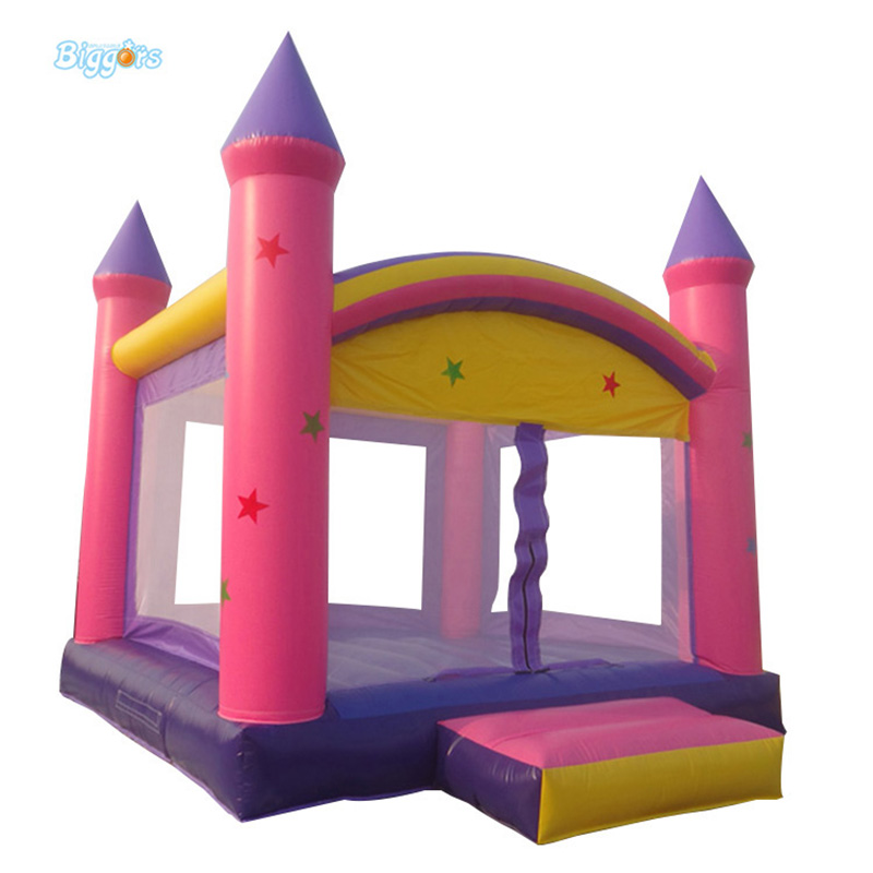 Pink inflatable jumping bouncer commercial bounce house bouncer стульчик шезлонг baby bouncer bebabybus uc42 pink