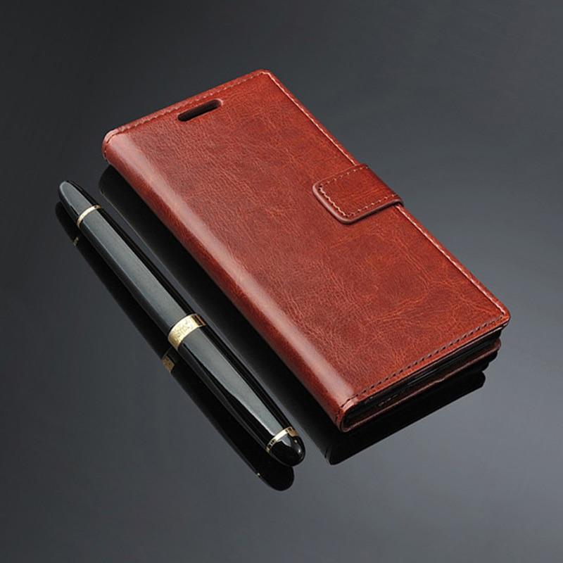 Xiaomi Redmi 3s pro case leather Funda de cuero flip de lujo para - Accesorios y repuestos para celulares - foto 2