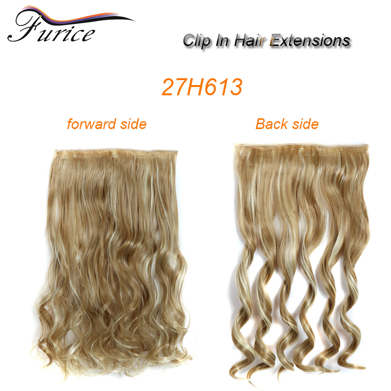 Curly Hair Clip In Hair Extensions Top Quality 100 Synthetic Hair