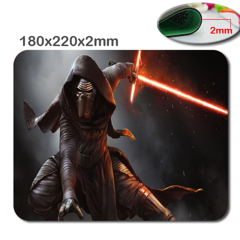 New Arrival Popular Kylo Ren Background Pattern Optical Rubber Mouse Mat Mice Pads Durable Gaming Notebook Computer Mouse pads