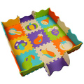 9 pcs Jogo Do Miúdo Cobertores Tapete de Espuma EVA 36 Tipos de Tipos de Esteira DO Jogo DO BEBÊ Esteira Do Jogo Do Bebê do Enigma Mat Proteção Frete Grátis
