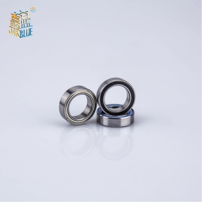 Ten High Quality. 5 409 2rs 6702rs 6702 2rs 6702 Rs <font><b>6702zz</b></font> 61702ZZ 15x21x4mm Miniature Double Rubber Bearings With Deep Throat image