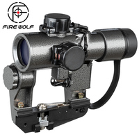 1X30 SVD Red Dot Sight Hunting Rifle Scopes Rifle Tactical CQB Optical Scope fit Tiger SKS Style Side Mount