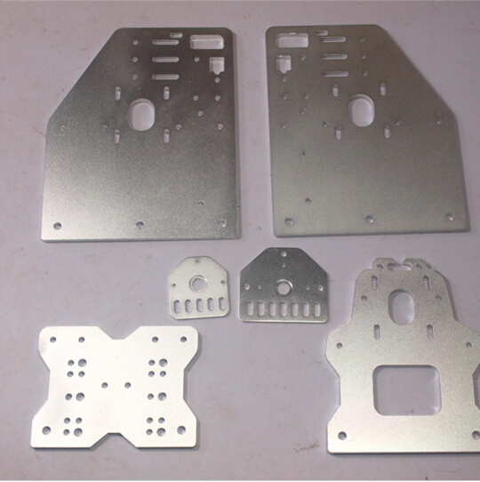 OX CNC machine parts Openbuilds OX CNC Aluminum Gantry Plates With Universal Threaded Rod Plates