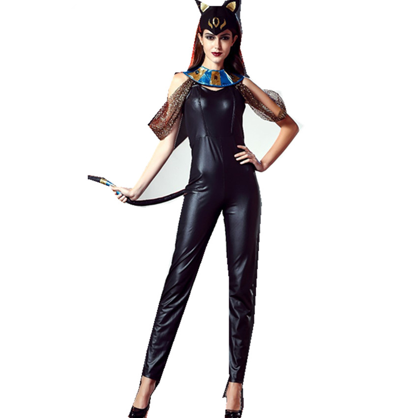 Cat In Latex Suit Woman - Babes-6767