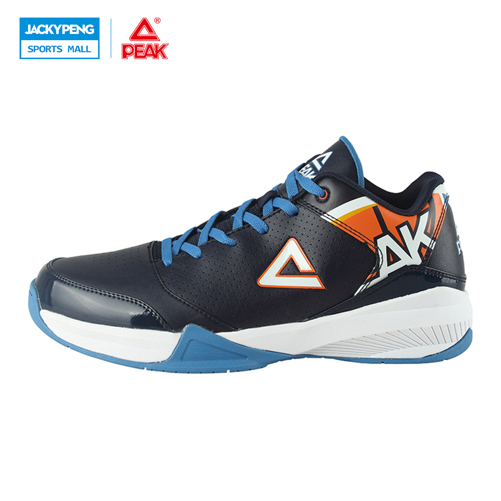PEAK SPORT Men Outdoor Bas Basketball Shoes Medium Cut Breathable Comfortable REVOLVE Tech Sneakers Athletic Training Boots peak sport star series george hill gh3 men basketball shoes athletic cushion 3 non marking tech sneakers eur 40 50