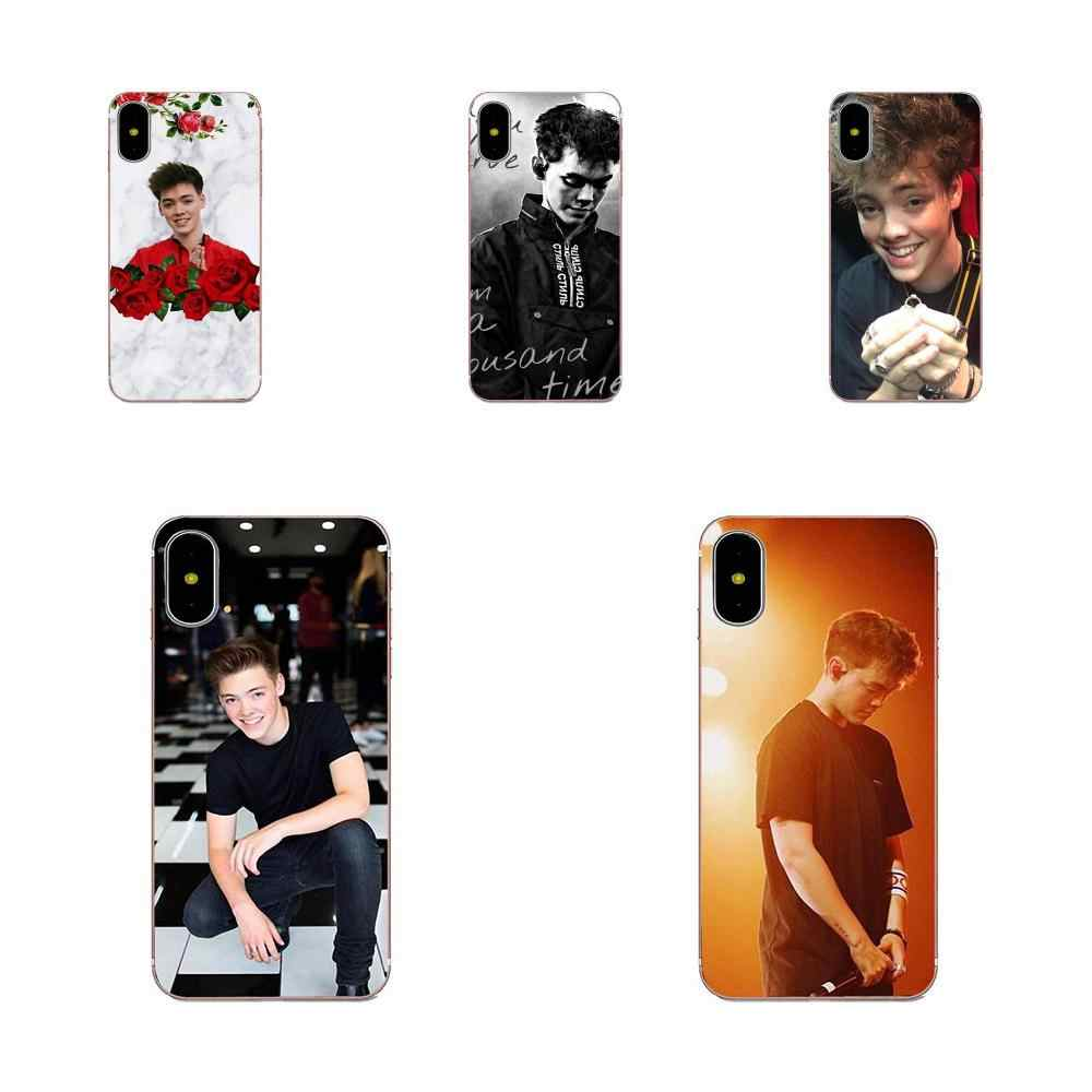 Zach Herron Why Dont We For Galaxy Alpha Core Note 2 3 4 S2 A10 A20 A20E A30 A40 A50 A60 A70 M10 M20 M30 TPU Call Box