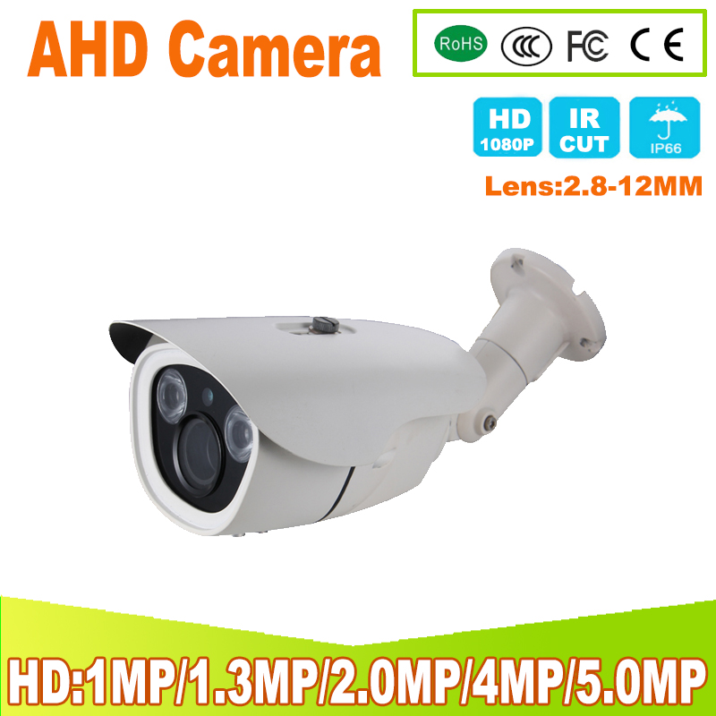 20P/1080P 4MP 5MP AHD Camera Full HD 2 PCS Array IR LED 30 Meter IR Distance CCTV Outdoor Video Street Security AHD Camera free shipping new 1 3 sony ccd hd 1200tvl waterproof outdoor security camera 2 pcs array led ir 80 meter cctv camera