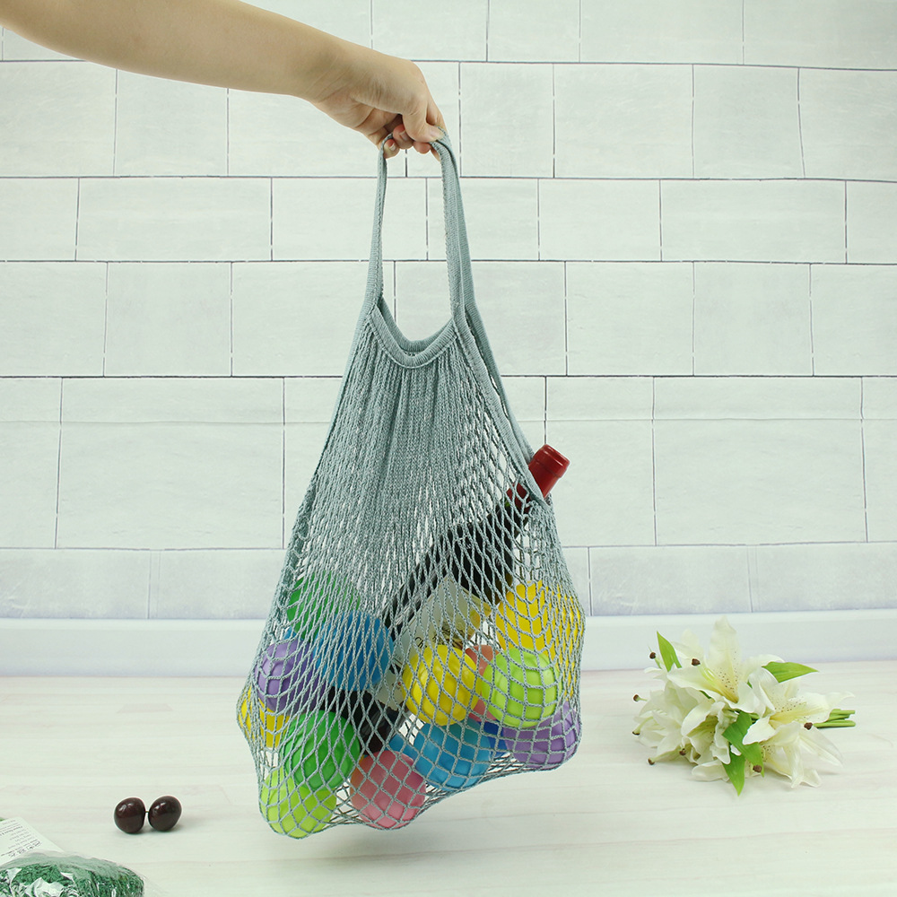 2019 New Mesh Net Shopping Bag Reusable Foldable Cotton Fruit Grocery Shopper Women Shoulder Bag Tote Case2019 New Mesh Net Shopping Bag Reusable Foldable Cotton Fruit Grocery Shopper Women Shoulder Bag Tote Case