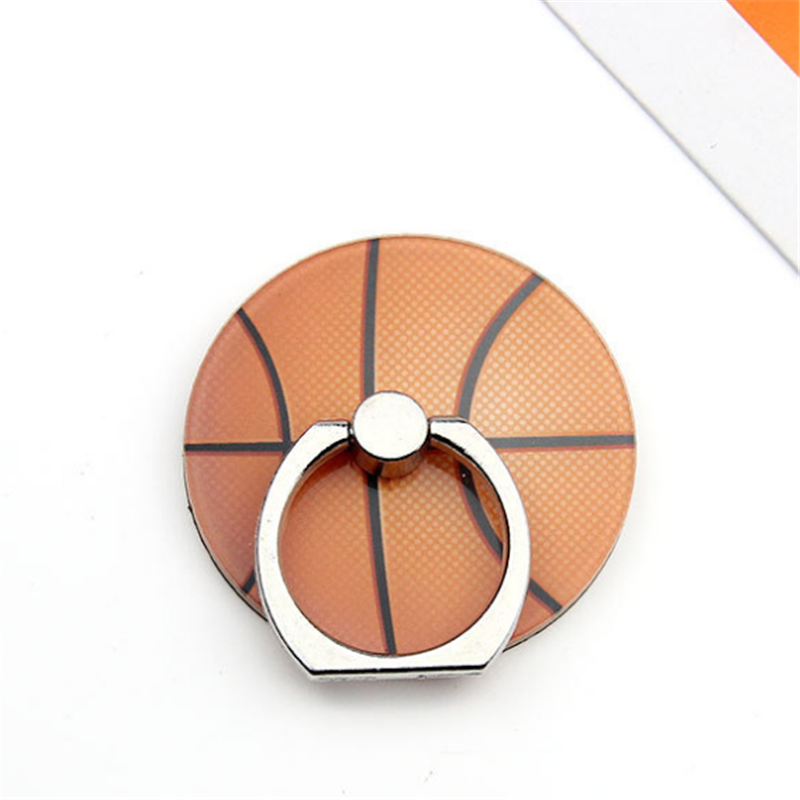 UVR Mobile Phone Stand Holder Sports Ball Finger Ring Basketball Smartphone Holder Stand For IPhone Xiaomi Huawei All Phone#