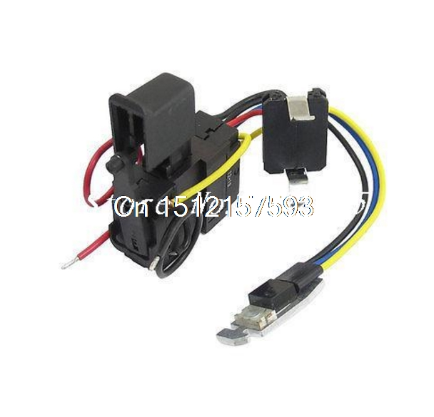 Electric Drill Wired Speed Control Switch 12A DC 24V for Hitachi DS7DF цена