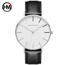 Пара часы лучший бренд роскошных Для мужчин Для женщин часы простые Кварцевые любителей Наручные часы Четыре черный весы творческий черный кожаный часы