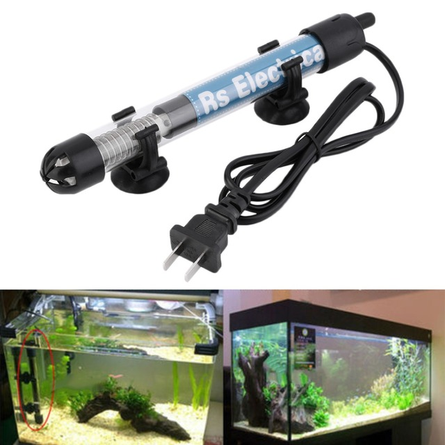 50w/100w/200w/300w US Plug Submersible Heater Heating Rod for Aquarium Glass Fish Tank Temperature Adjustment