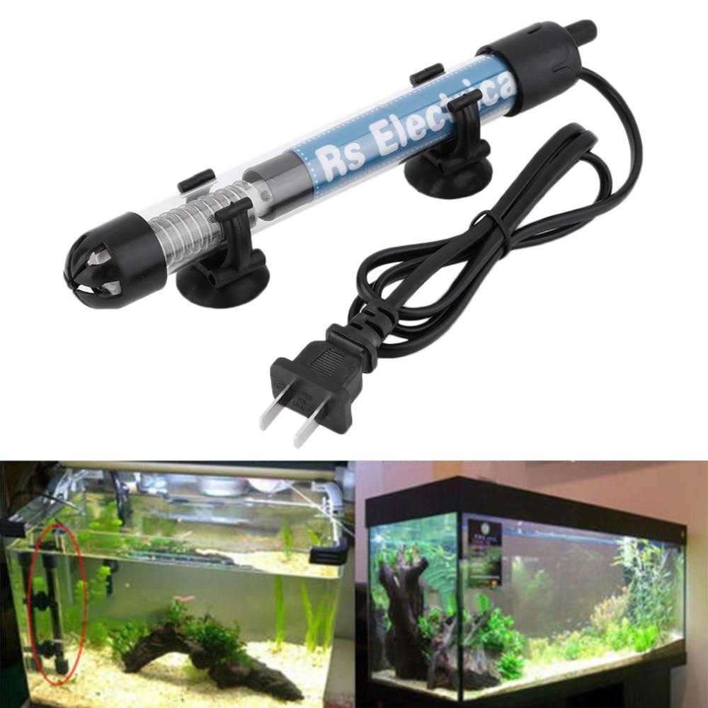 Submersible aquarium fish tank water heater - 50w 100w 200w 300w Us Plug Submersible Heater Heating Rod For Aquarium Glass Fish Tank Temperature Adjustment