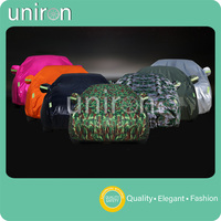 Uniron Camouflage Colorful Car Covers Indoor Outdoor Full Car Covers Sun UV Rain Waterproof Snow Dust Resistant Protection Cover