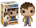 Funko POP Doctor Who: Tenth Doctor PVC Action  Figure 10cm 3 3/4''  Television Character Doll  Great as a Gift