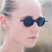 2fad8263ad mimiyou Modern Round Women Sunglasses Small Punk Eyewear Vintage Fashion  Unisex Eyeglasses Men Sun Glasses Brand
