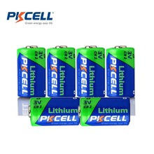 6 X PKCELL CR2 3V 850mAh Photo Battery CR15H270 15270 Lithium Non-rechargeable Batteries