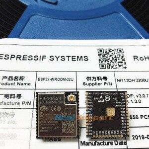 Image 3 - ESP32 WROOM 32U 4MB 8MB 16MB Flash bellek wi fi + BT + BLE ESP32 modülü IPEX anten konnektör Espressif orijinal