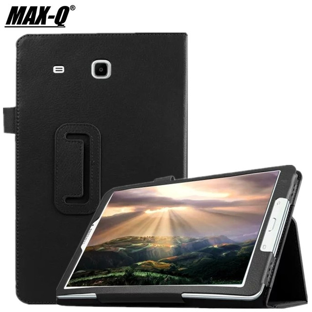 the latest 4b20d 0cc70 US $11.36 |2015 Luxury Book Cover Case for Samsung Galaxy Tab E 9.6''  T560/T561 Tablet Stand pu Leather Cases For Galaxy TAB E9.6 business-in  Tablets ...