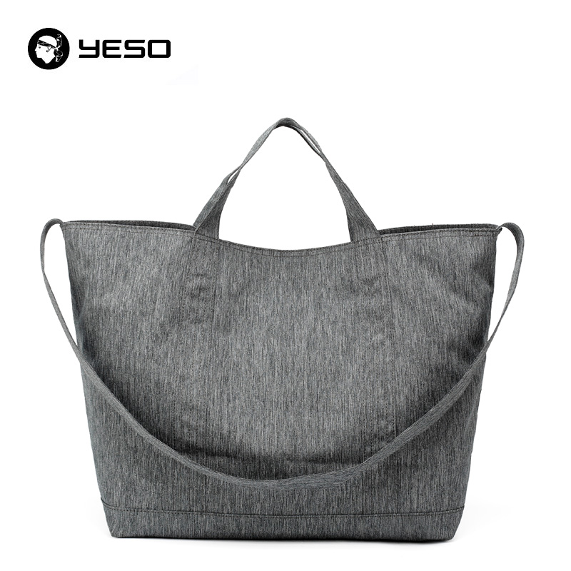 YESO Large Capacity Tote Beach Bags 37.2L Handbags Women/Men Casual Shopping Bag Oxford Waterproof Travel Casual Shoulder Bags