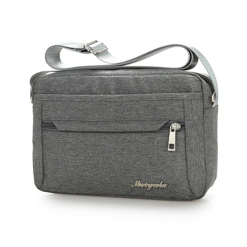 men and women pure Messenger Bags Crossbody Bag Nylon Waterproof Female Shoulder Bag Designer Handbags High Quality Ladies