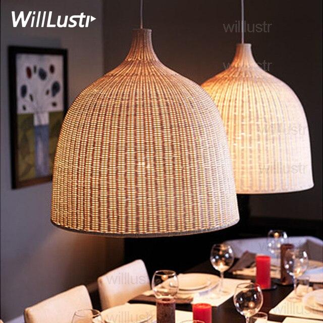 wiklinowa lampa wisząca