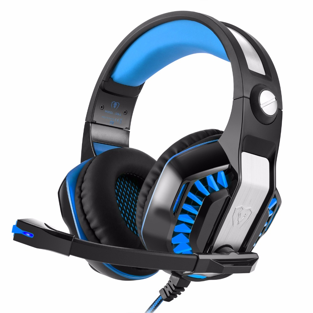 Supology LED Gaming Headset Luminous Stereo Super Bass PC Gamer Headphones with Micphone For Computer Casque Audio high quality gaming headset with microphone stereo super bass headphones for gamer pc computer over head cool wire headphone
