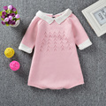 Autumn Baby Bodysuit Knitted Baby Girl Sweater Body Suits Kids Jumpsuit Infant Clothes Winter Todder Girl Bodysuit