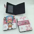 Japanese Anime One Piece Synthetic Leather Short Exquisite Wallet/Purse Printed w-Tonny Chopper