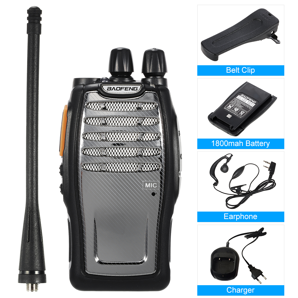 2PCS BaoFeng BF A5 Walkie Talkie Portable Professional FM Radio Two Way Radio Talkie Walkie CB