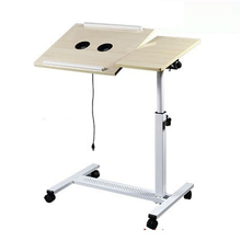 YST Tiger dad home simple lazy bed notebook comter desk with heat lifting bedside table shipping FREE SHIPPING