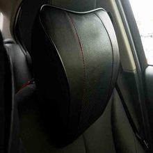 Из натуральной кожи медленное восстановление подголовник для Peugeot 308 208 2008 3008 5008 4008 508 автомобилей Интимные аксессуары