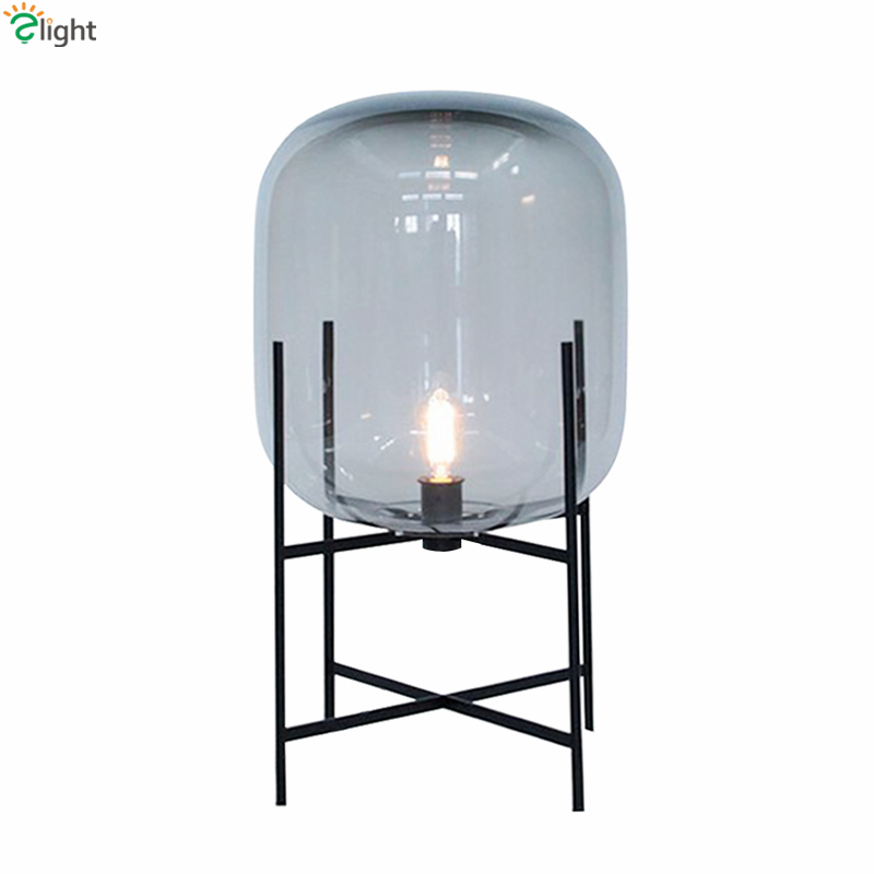 Europe oda pulpo table lamp glass shades metal lamp body desk light europe oda pulpo table lamp glass shades metal lamp body desk light amber gray color shades table deco lamp for bedroom in desk lamps from lights lighting mozeypictures Image collections