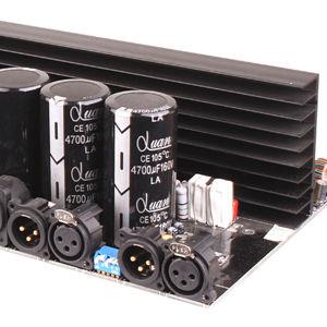 Image 5 - Amplificador de potência profissional de 2 canais, amplificador mosfet 2*4150 relógios, estéreo, série d, conjunto de linha tule, play, 1500