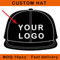 Desechables tapa elecciones equipo juegos de partido sombrero de la fiesta de cumpleaños personalizada gorra de béisbol del snapback sombrero OEM Pequeño MOQ E112-1