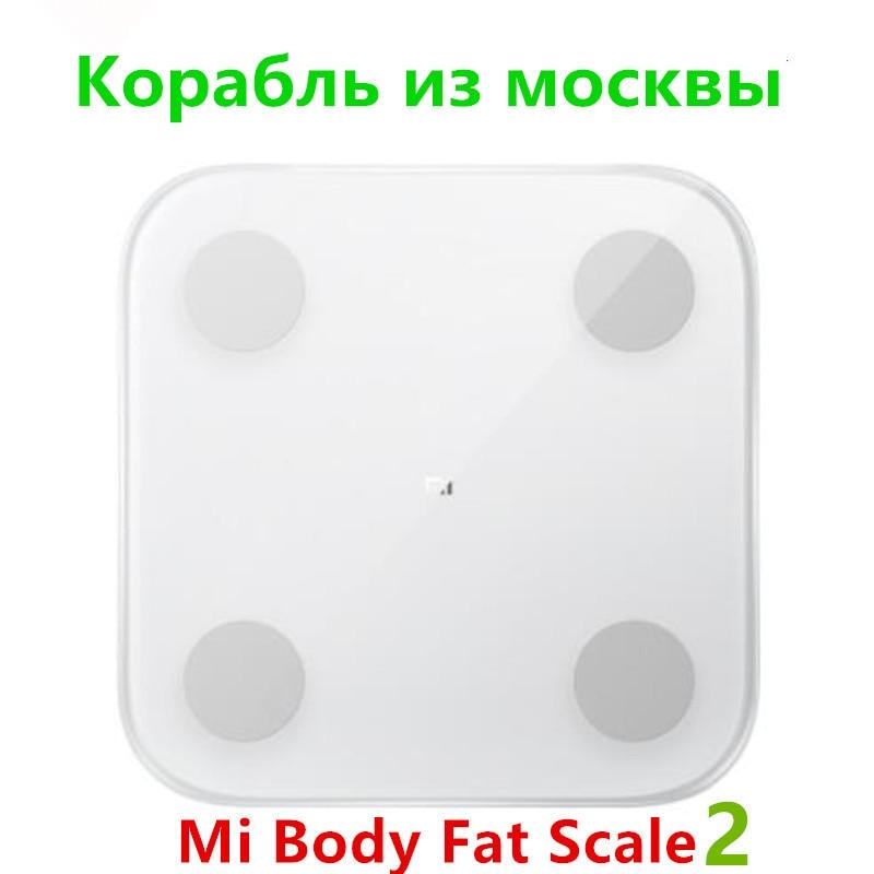 3 Years Warranty 2019 Hot XIAOMI Mijia Body Fat Scales 2 Digital Electronic LED Display