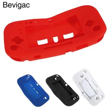 Bevigac-funda protectora de silicona para Nintendo Wii U, funda protectora suave para...