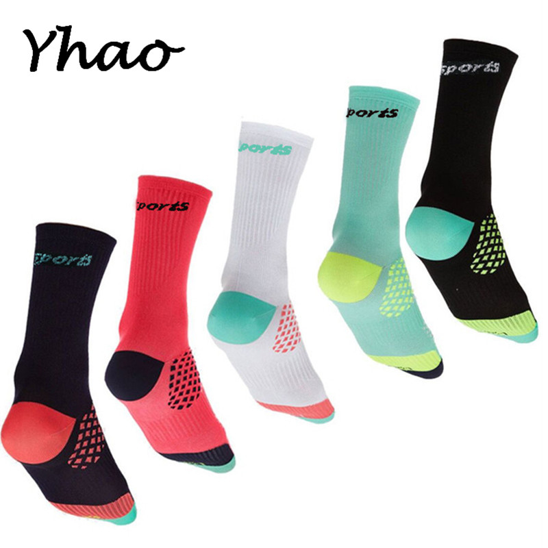 Yhao Professional Cycling Socks Sport Breathable Socks Road Bicycle Socks Outdoor Sports Racing Sox