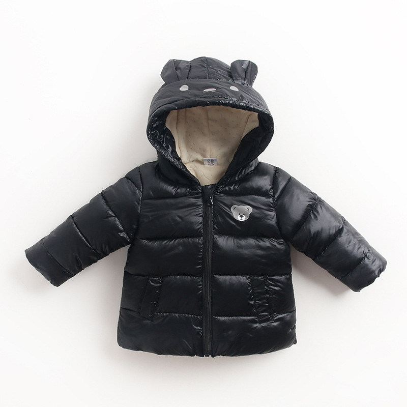 Brand Down Cotton Thick Warm Christmas Jacket For Boys Girls parka children Autumn Winter Snow jacket Baby coat outerwear W182 children winter coats jacket baby boys warm outerwear thickening outdoors kids snow proof coat parkas cotton padded clothes