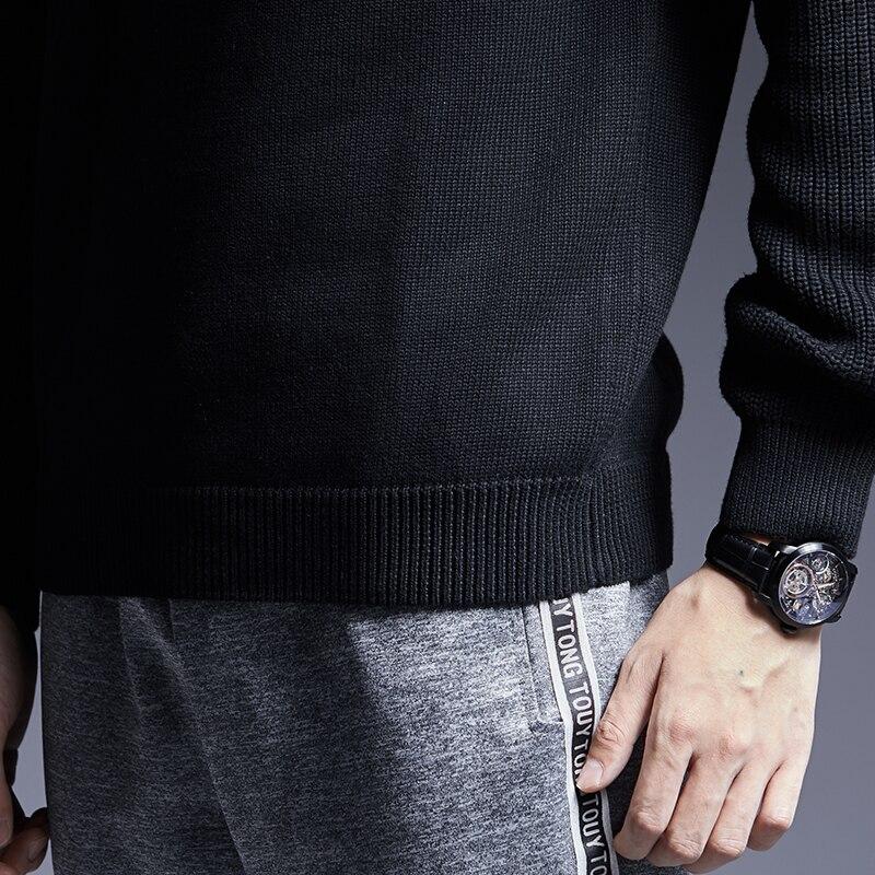 Men's Pullover Turtleneck Sweater 5