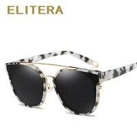 ELITERA Fashion Cat Eye Sunglasses Women Brand Designer Retro Female Sun Glasses Oculos De Sol Feminino