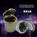 Стайлинга автомобилей авто Сигареты пепельница со СВЕТОДИОДНОЙ лампы Для Chery Tiggo A1 A3 QQ Fulwin E5 E3 G5 V7 EMGRAND EC7 EC7-RV EC8