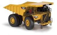 Литья под давлением модель автомобиля Norscot 1:50 весы Caterpillar Cat 793F добыча грузовик инженерных машин 55273 для Man коллекция, украшения
