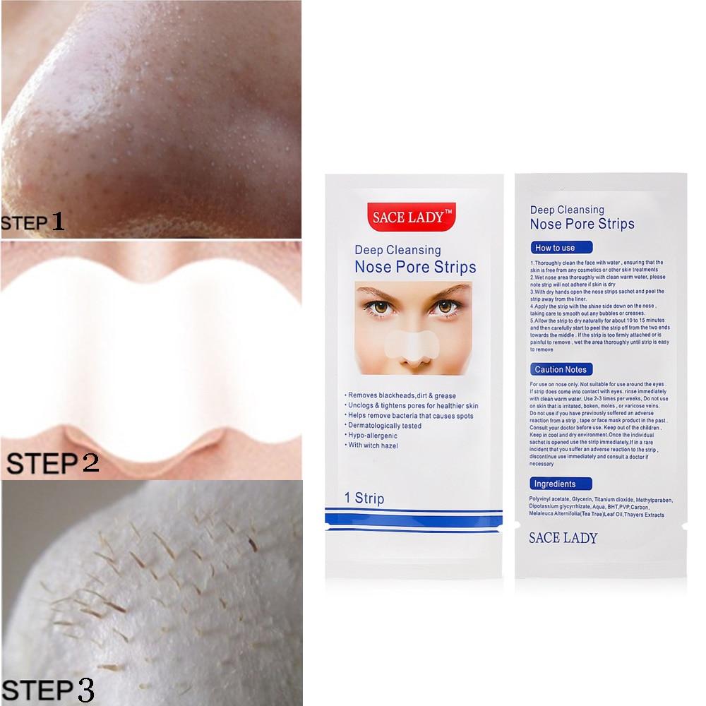Blackhead Remover Deep Cleansing Acne Treatment Nose Mask Nose Strips Nasal Spot Facial Dot Sticker Sheet Black Head Skin Care
