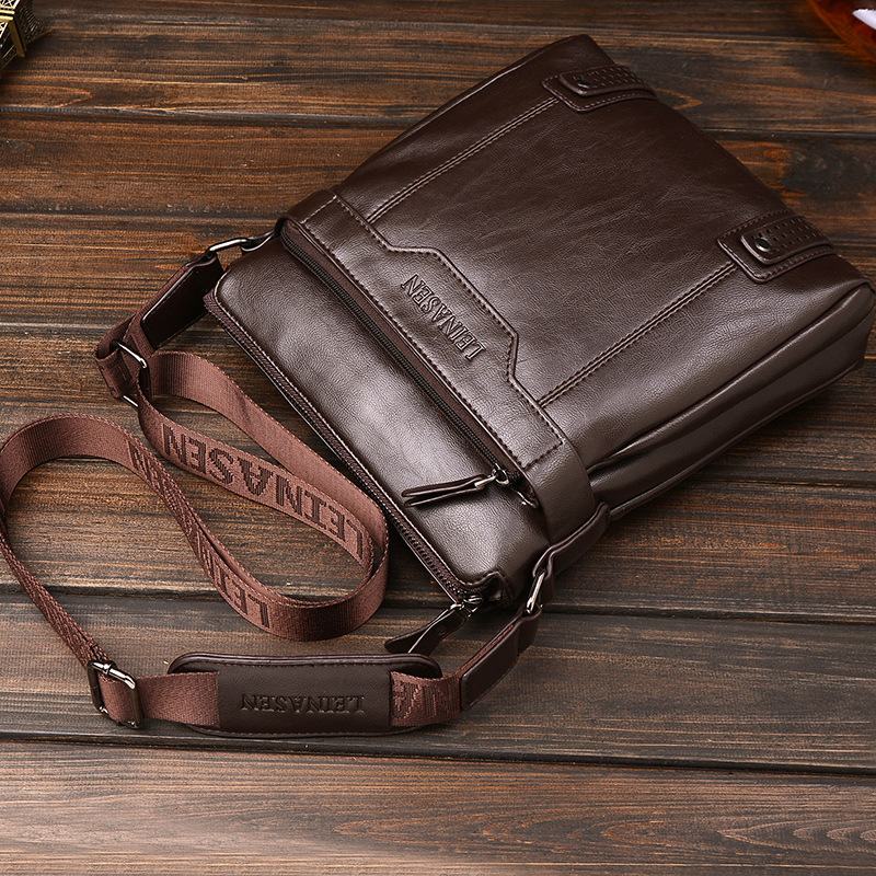 Men Handbag Men Shoulder Bag Business Bag Men's Crossbody Small Messenger Bags Famous Brand Designer Men Handgag High Quality high quality men canvas bag vintage designer men crossbody bags small travel messenger bag 2016 male multifunction business bag