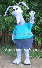 Grey Aardvark with Attitude Aardvark Anteaters Mascot Costume Adult Size Cartoon Character Mascotte carnival fancy dress SW1170(China)