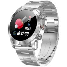 Bluetooth 4 2 Smartwatch IP68 wodoodporne zegarki sportowe monitorowania tętna Fitness bransoletka z nadajnikiem dla Android iOS telefon tanie tanio Passometer Tracker fitness Uśpienia tracker Wiadomość przypomnienie Przypomnienie połączeń Naciśnij wiadomość Budzik