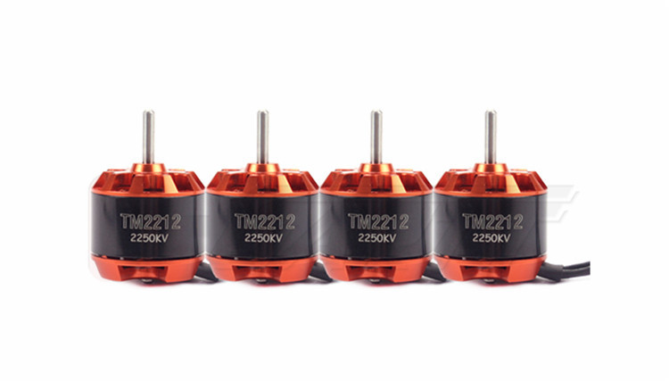 Freeshipping  4 PCS GARTT TM 2212 2250KV Brushless Motor For Multirotor Quadcopter Hexa 4x emax mt2213 935kv 2212 brushless motor for dji f450 x525 quadcopter multirotor